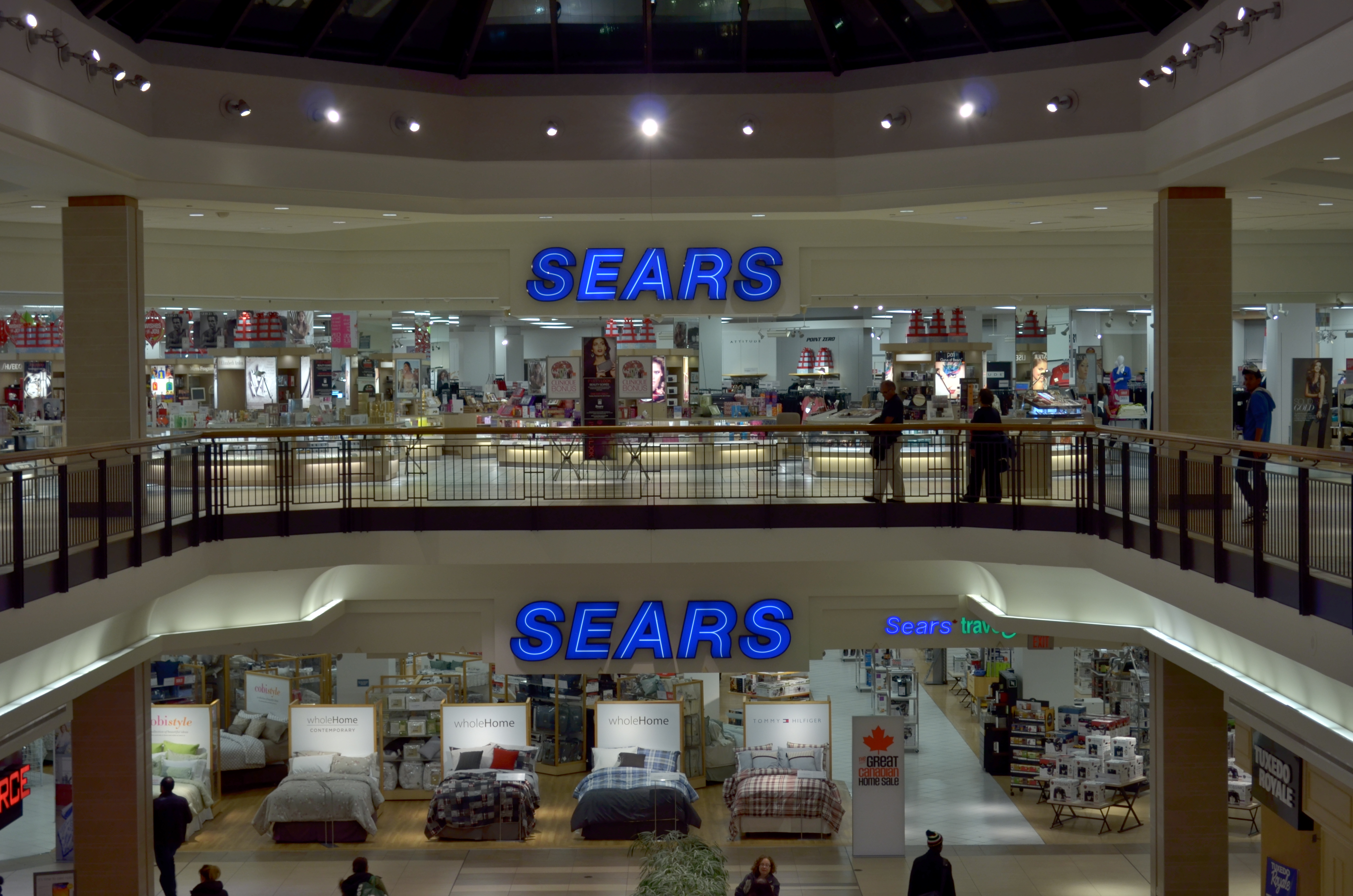 Sears Roebuck and Company colloquially known as Sears is an American chain of department stores founded by Richard Warren Sears and Alvah Curtis Roebuck in 1892