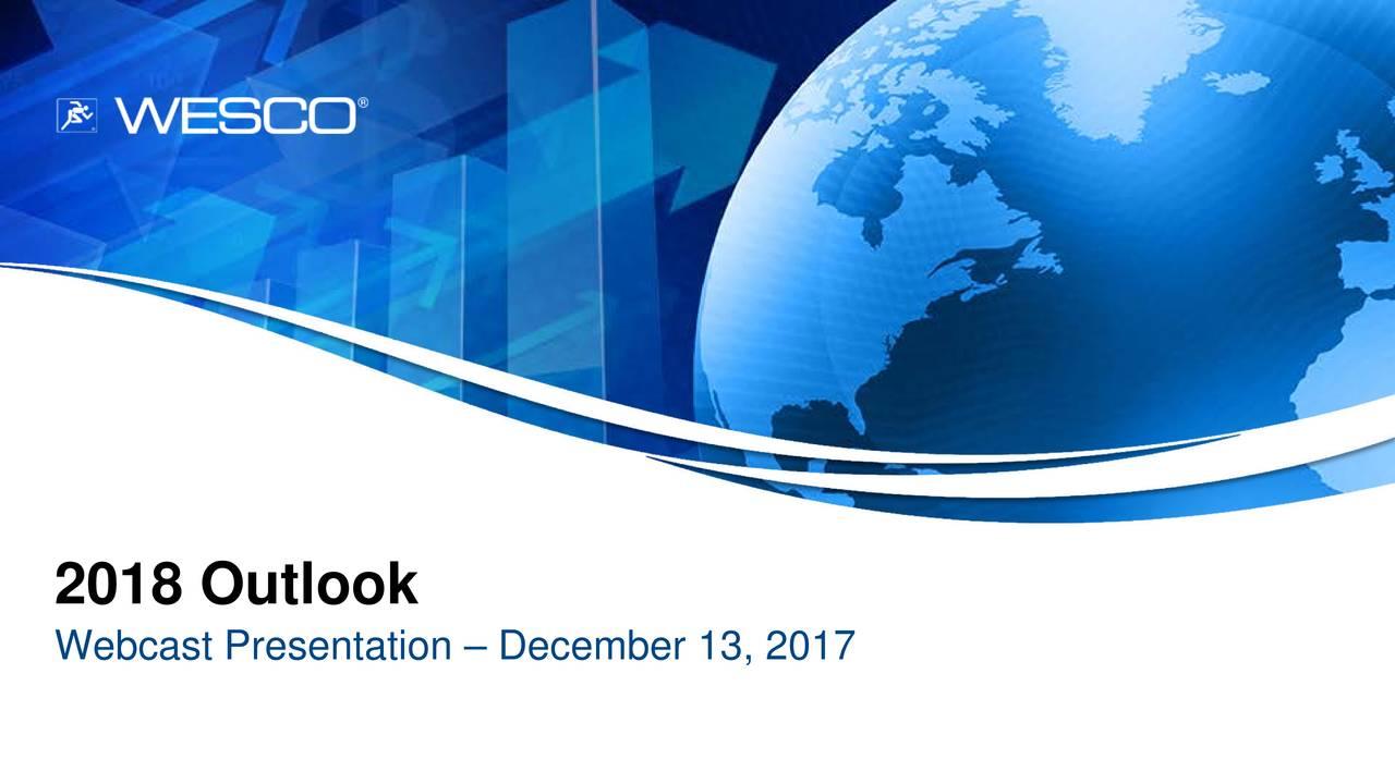 Webcast Presentation – December 13, 2017