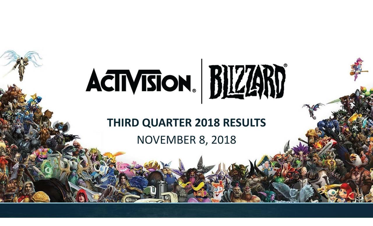 THIRD QUARTER 2018 RESULTS