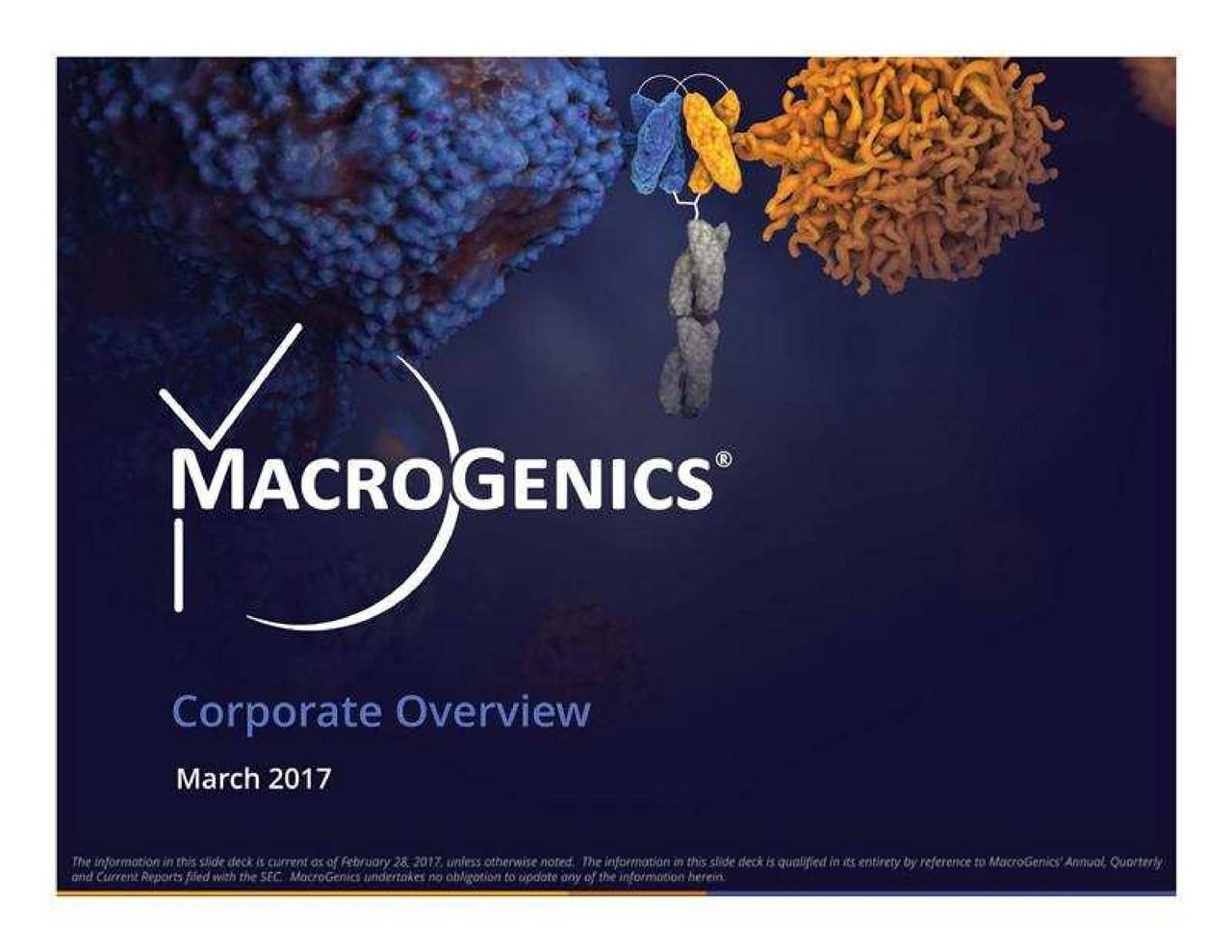 MacroGenics (MGNX) Presents At 29th Annual ROTH Conference