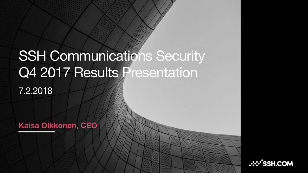 Ssh Communications Security Oyj