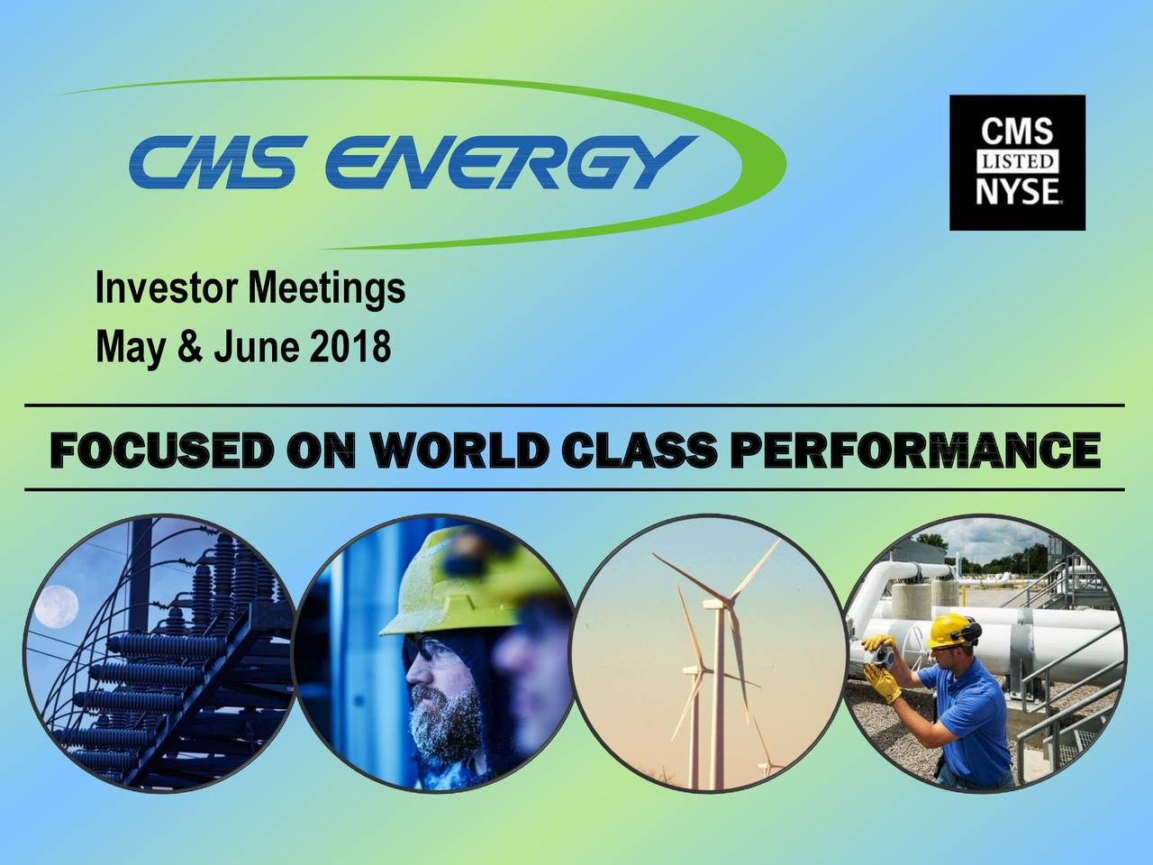 CMS Energy (CMS) Presents At American Gas Association