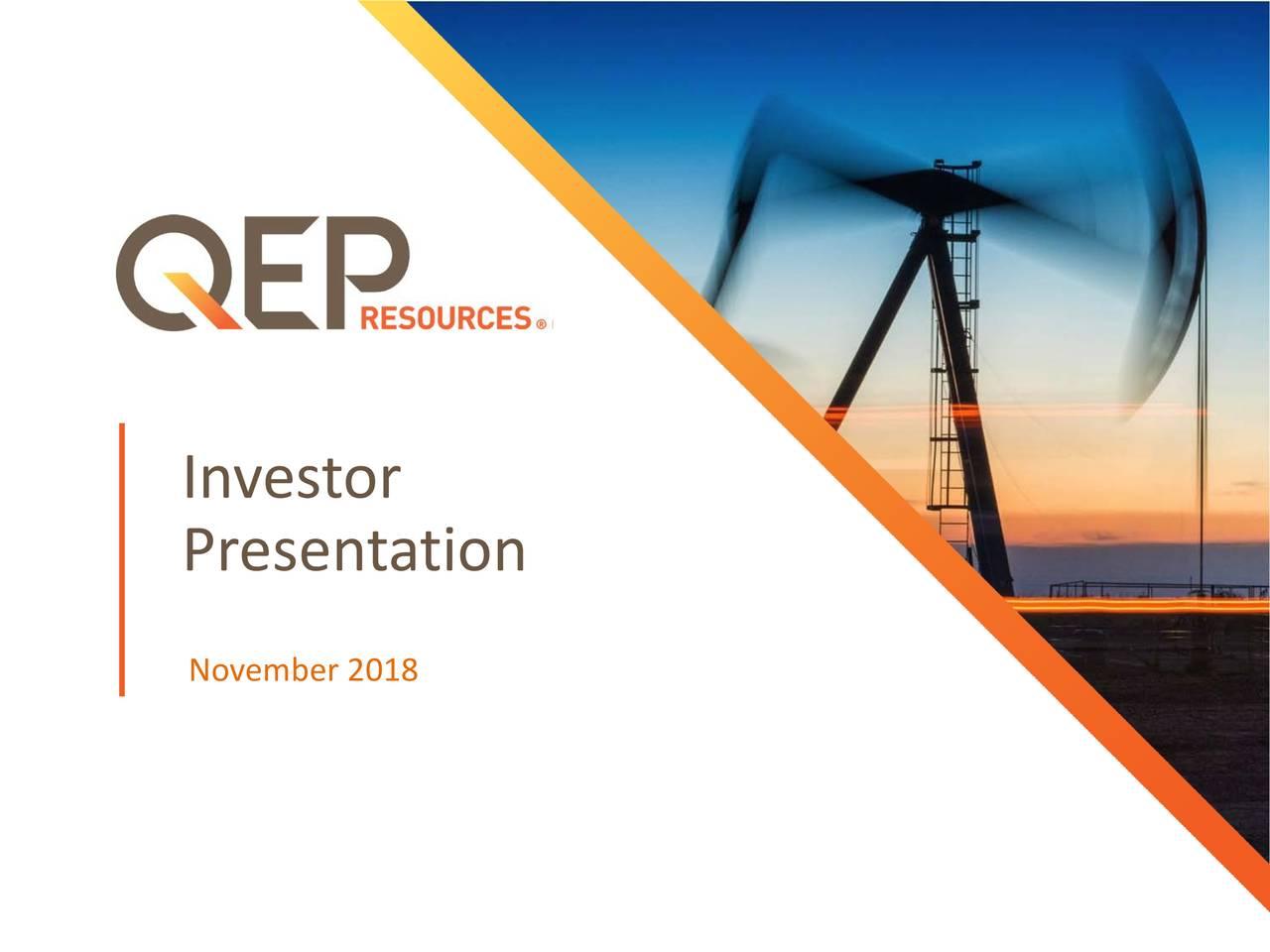 Presentation November 2018