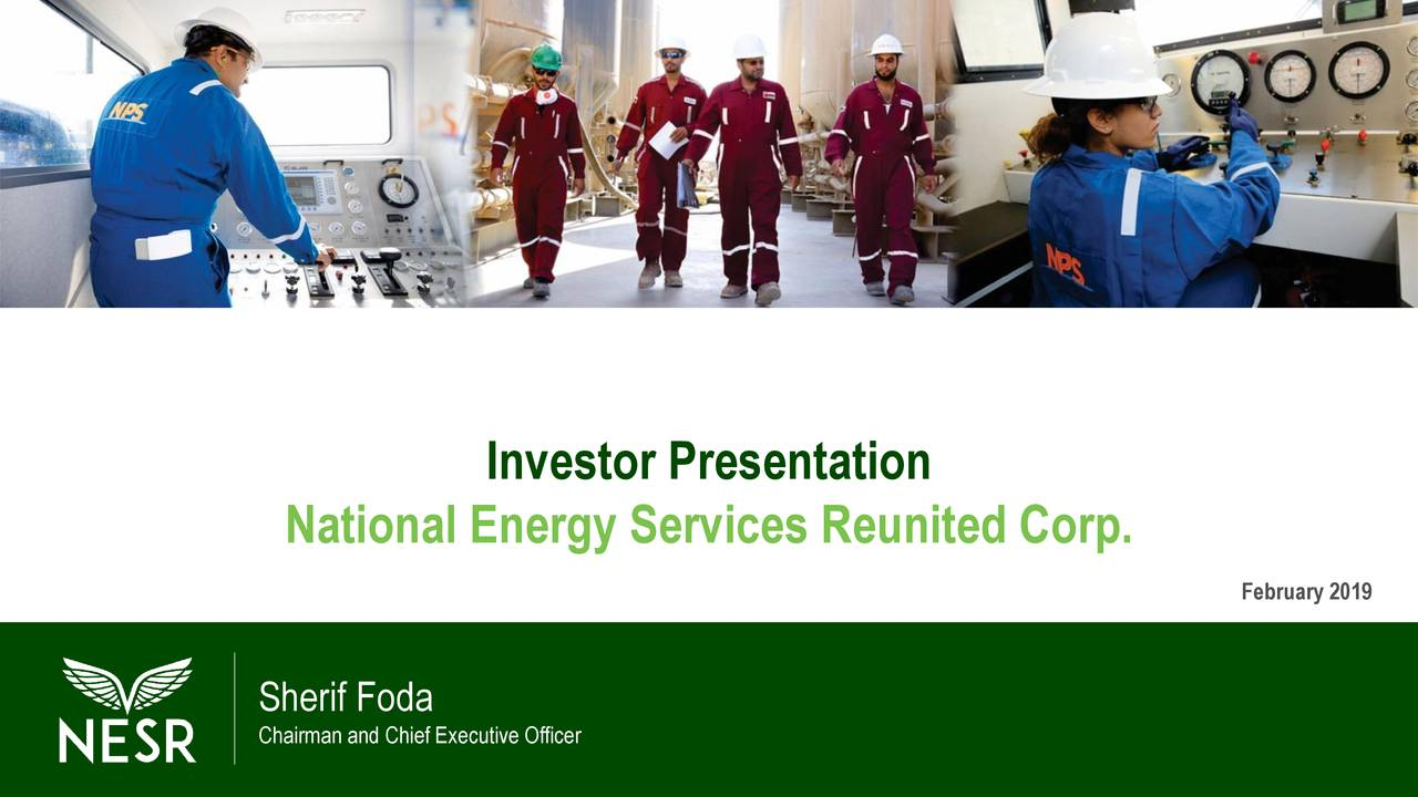 National energy services reunited ipo