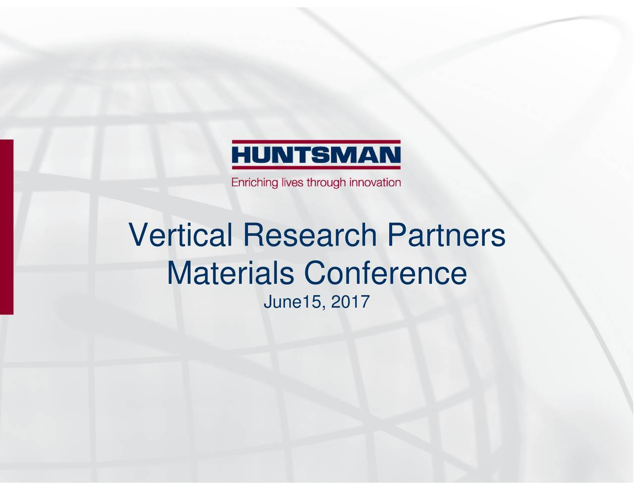 Materials Conference Vertical Research Partners