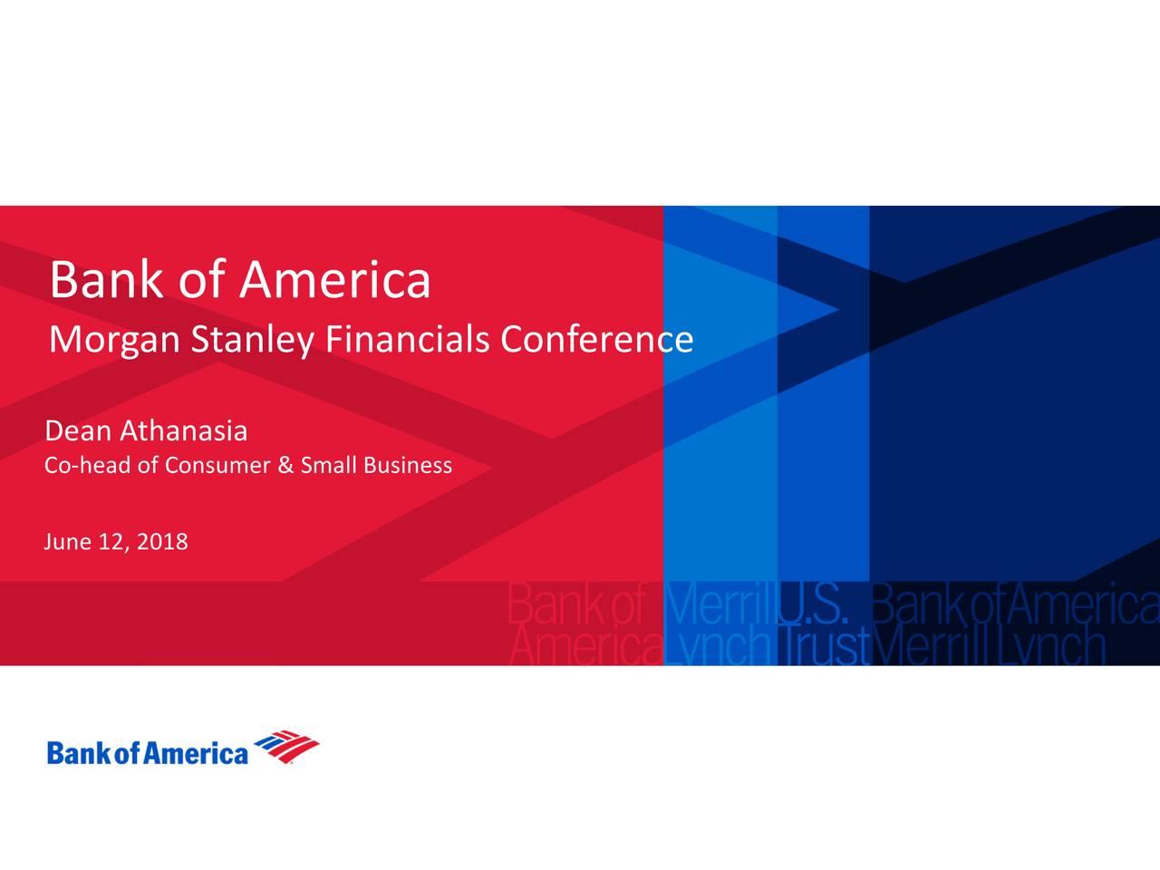 Bank of America (BAC) Presents At Morgan Stanley Financials