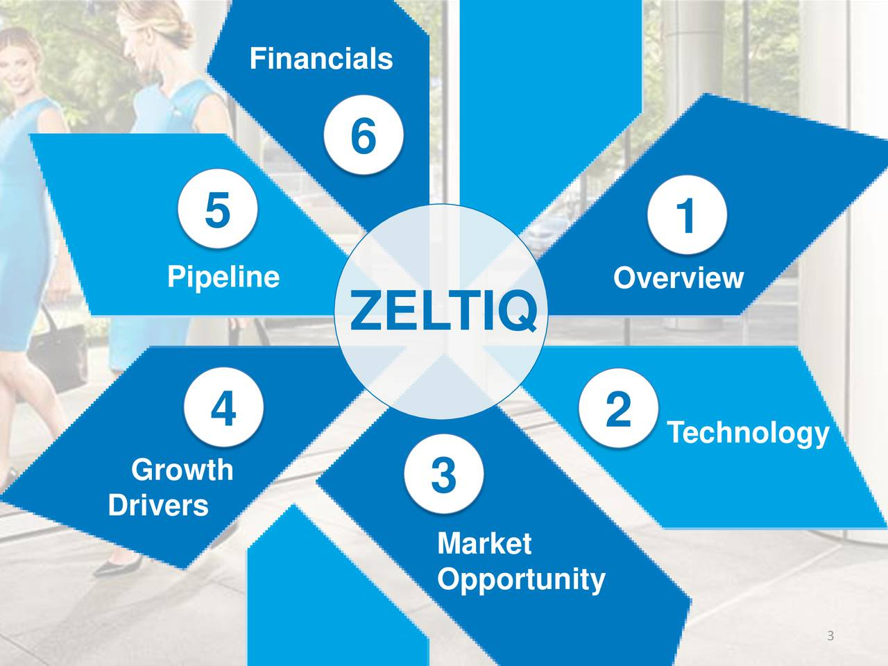 6 5 1 Pipeline Overview ZEL TIQ 4 2 Technology Growth Drivers 3 Market Opportunity 3