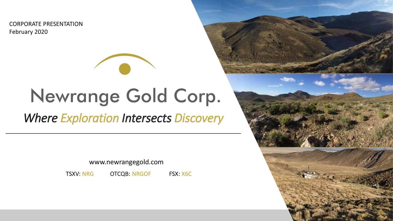 Newrange Gold (NRGOF) Investor Presentation - Slideshow - NewRange Gold Corp. (OTCMKTS:NRGOF) | Seeking Alpha