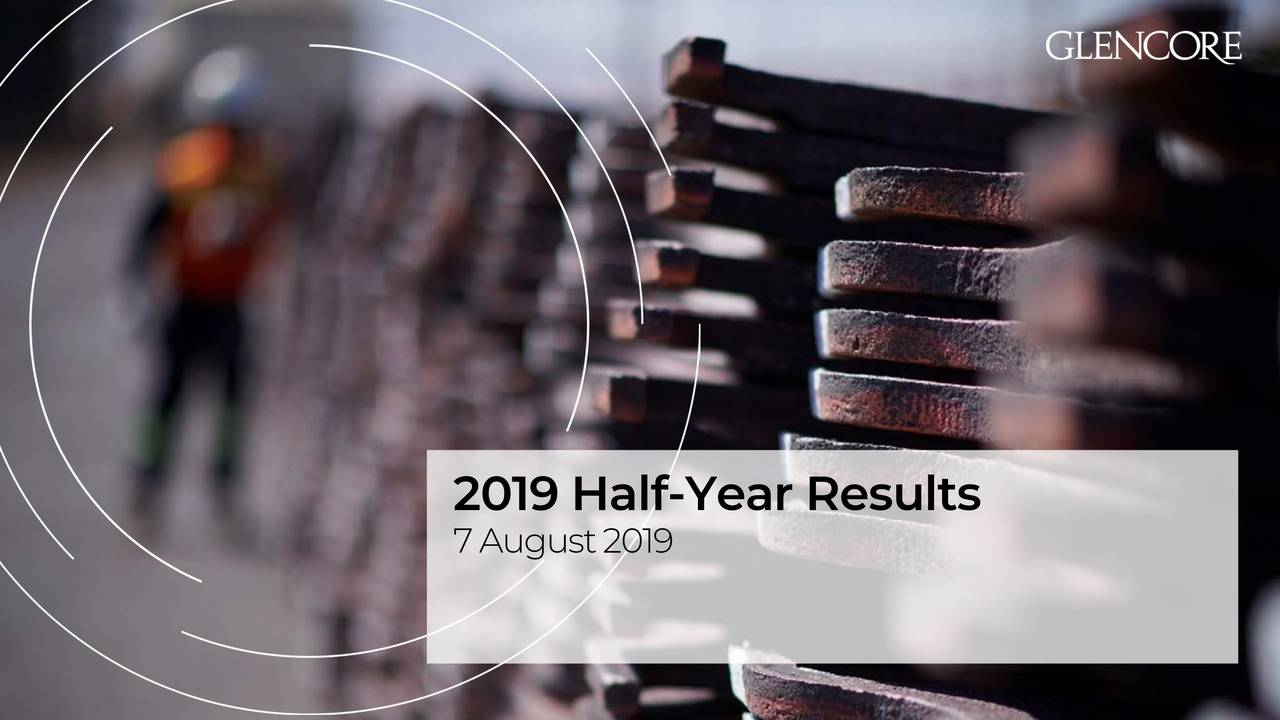2019 Half -Year Results