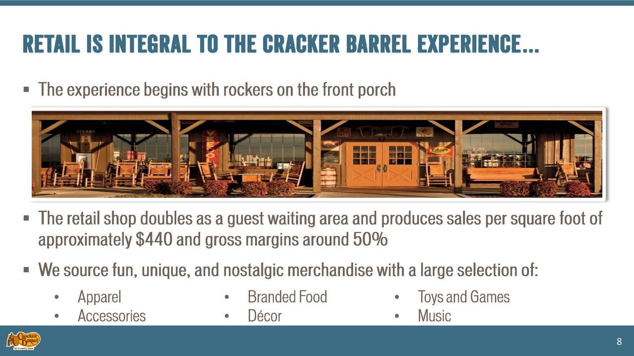 Cracker Barrel Old Country Store (CBRL) Presents At Bank of America