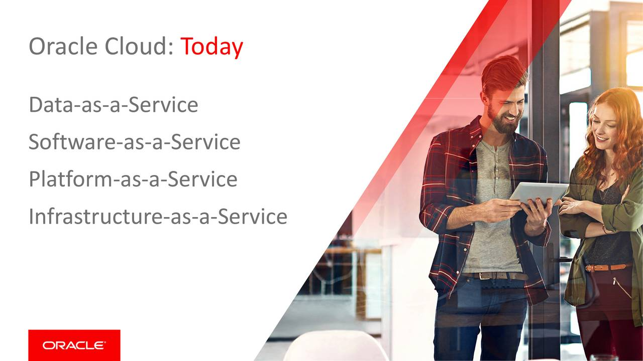 Oracle Cloud: T   oday