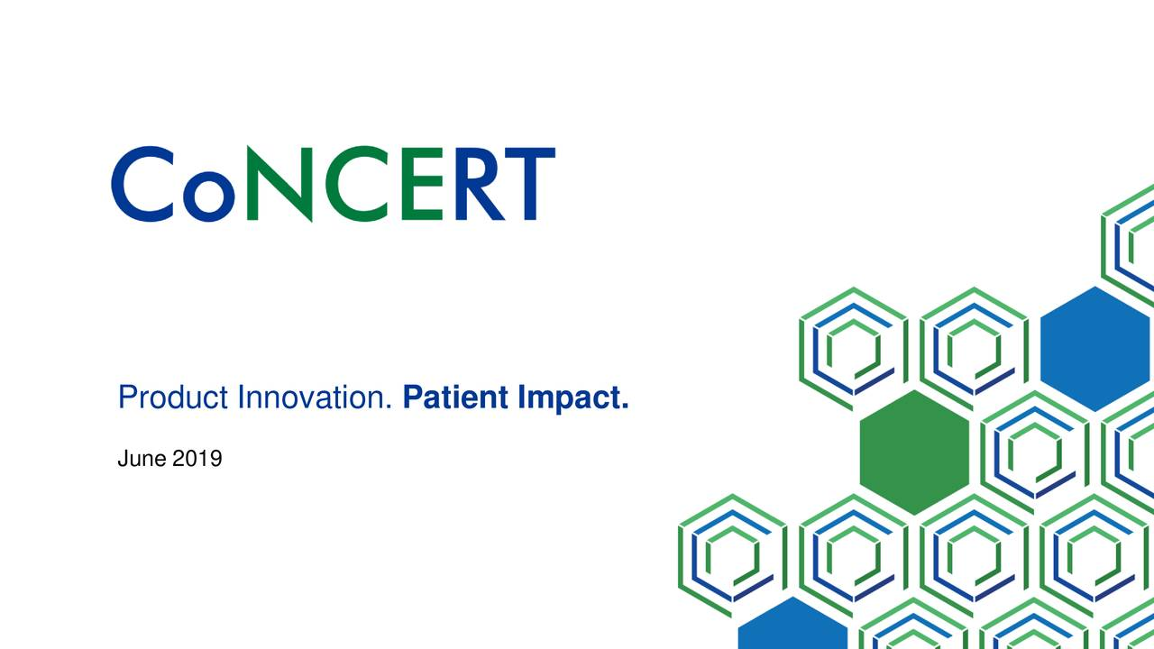 Concert Pharmaceuticals (CNCE) Presents At Jefferies 2019 Healthcare Conference - Slideshow