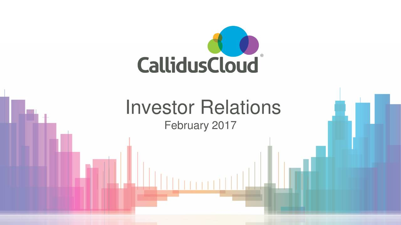 February 2017 2017 CallidusCloud - All rights reserved | 1