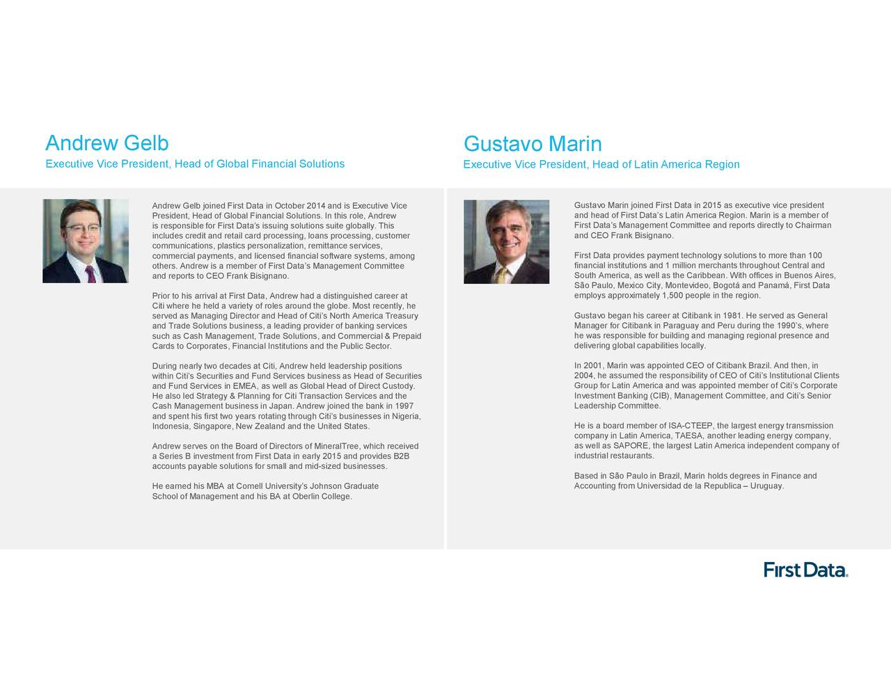 First Data (FDC) Investor Presentation - Slideshow - First
