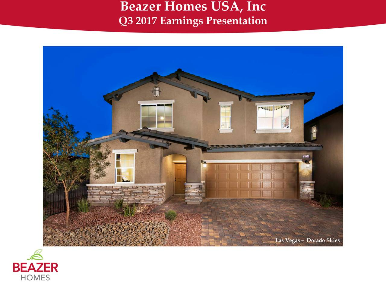 Beazer Homes USA, Inc