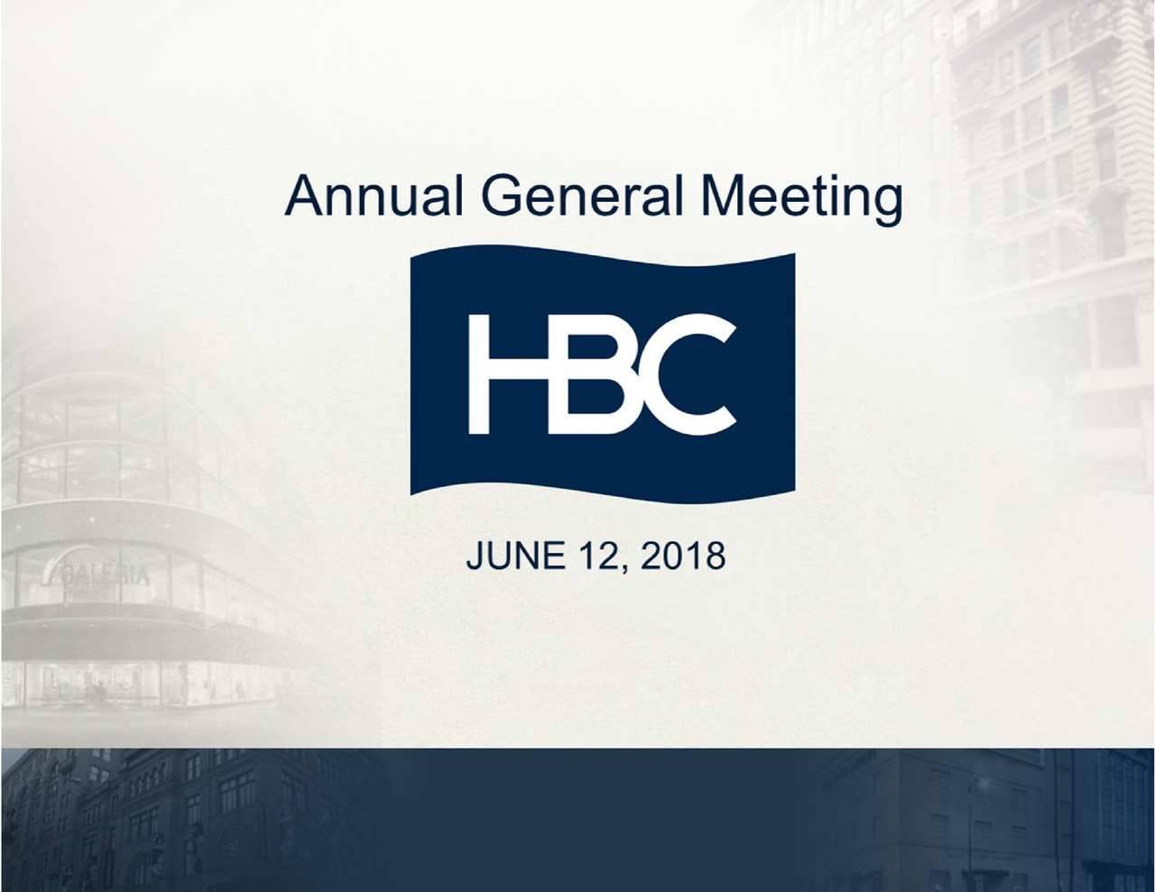 8db9535c1d8a Hudson s Bay (HBAYF) Investor Presentation - Slideshow - Hudson s ...