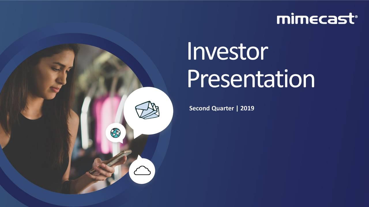 Presentation Second Quarter   2019