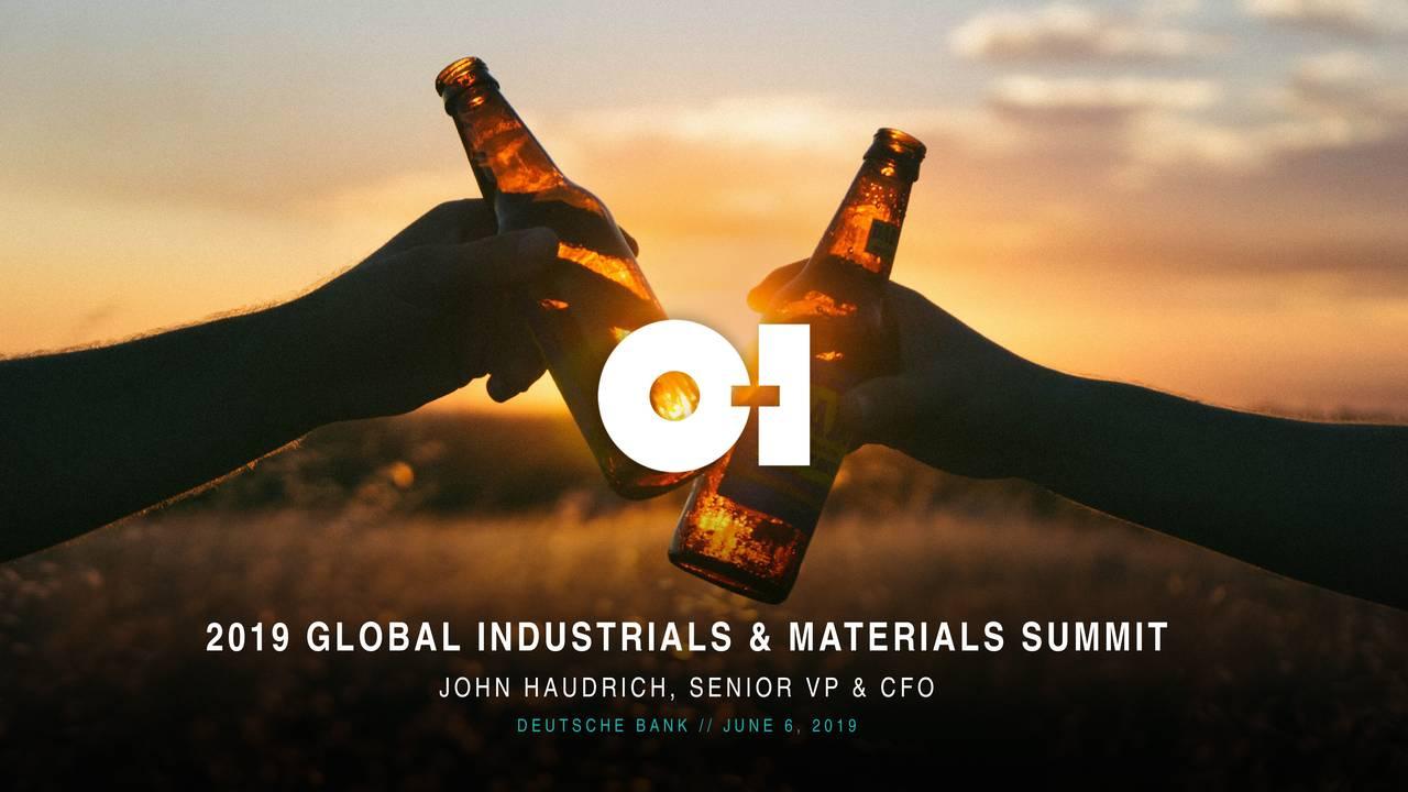 Owens-Illinois (OI) Presents At Deutsche Bank 10th Annual Global Industrials & Materials Summit - Slideshow