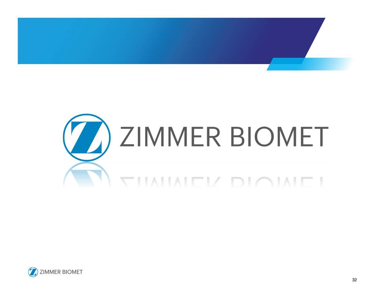 Zimmer biomet holdings inc 2017 q4 results earnings for Zimmer holdings
