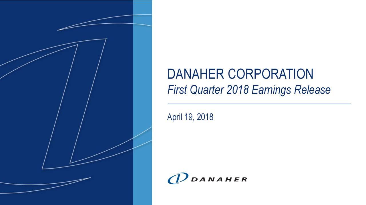 First Quarter 2018 Earnings Release April 19, 2018