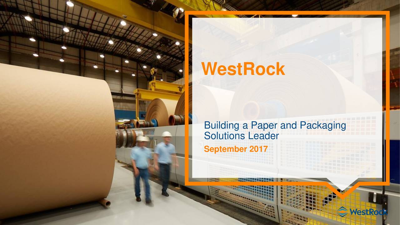Building a Paper and Packaging Solutions Leader September 2017