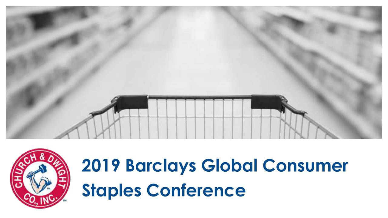 Church & Dwight (CHD) Presents At Barclays Global Consumer