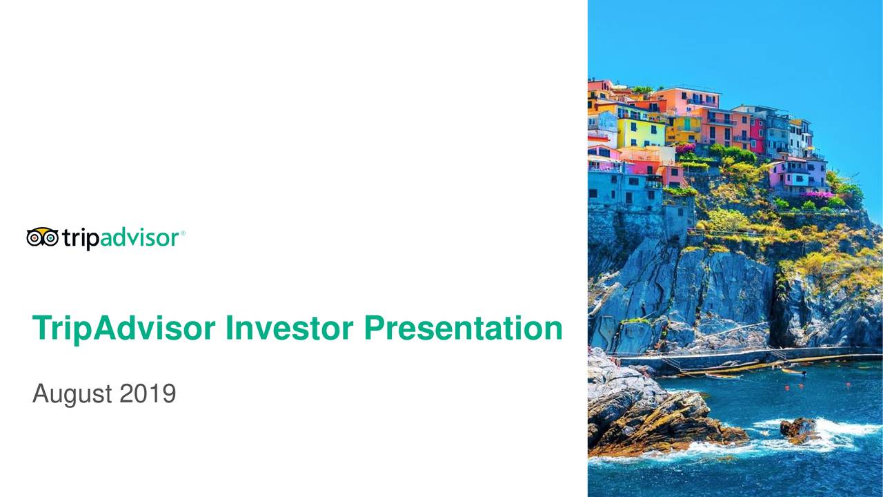 TripAdvisor Investor Presentation