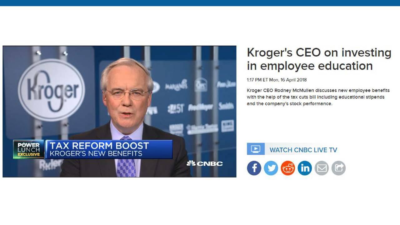 kroger (kr) investor presentation - slideshow - kroger co. (nyse:kr