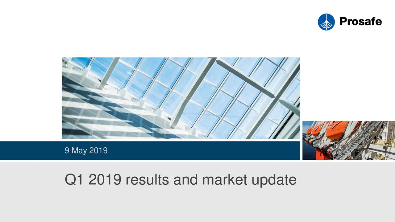 Q1 2019 results and market update