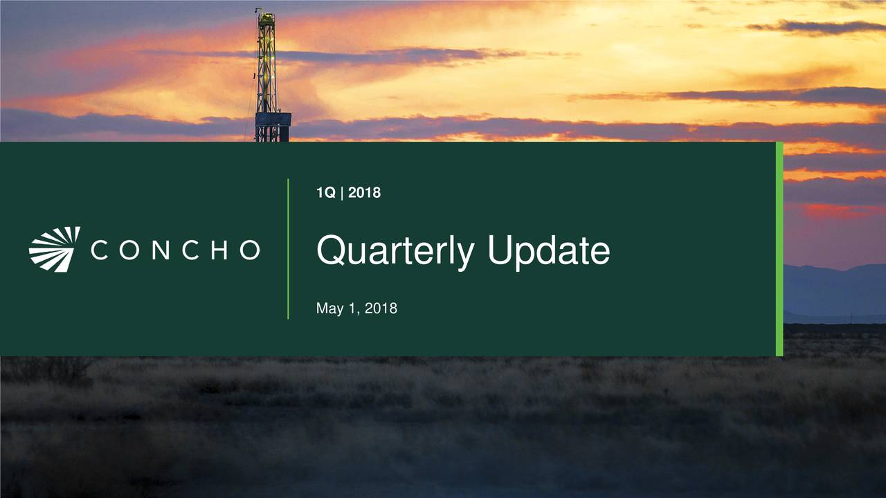 Quarterly Update May 1, 2018