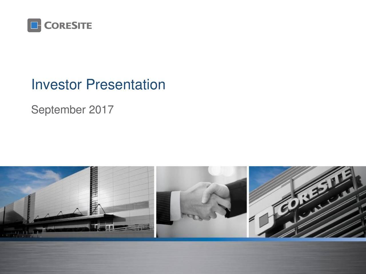 Design Bank Cor.Coresite Realty Cor Presents At Bank Of America Merrill Lynch