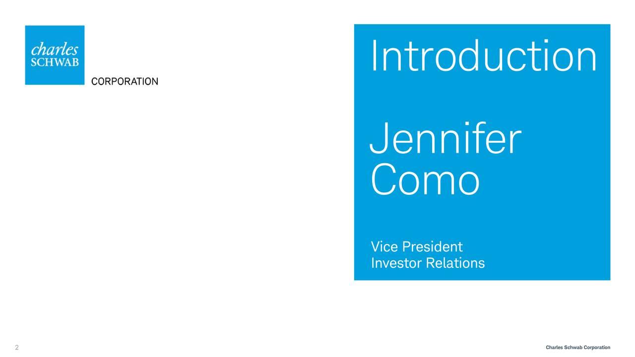 Jennifer Como Vice President Investor Relations