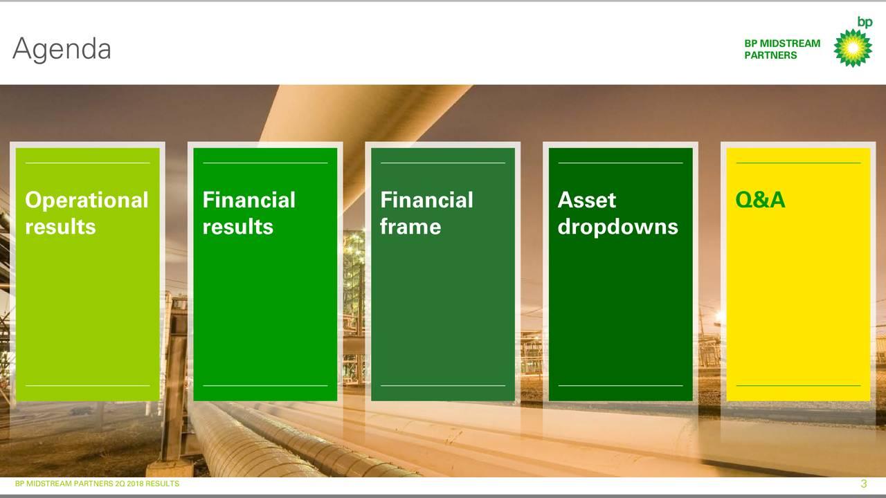 BP Midstream Partners LP 2018 Q2 - Results - Earnings Call Slides ...