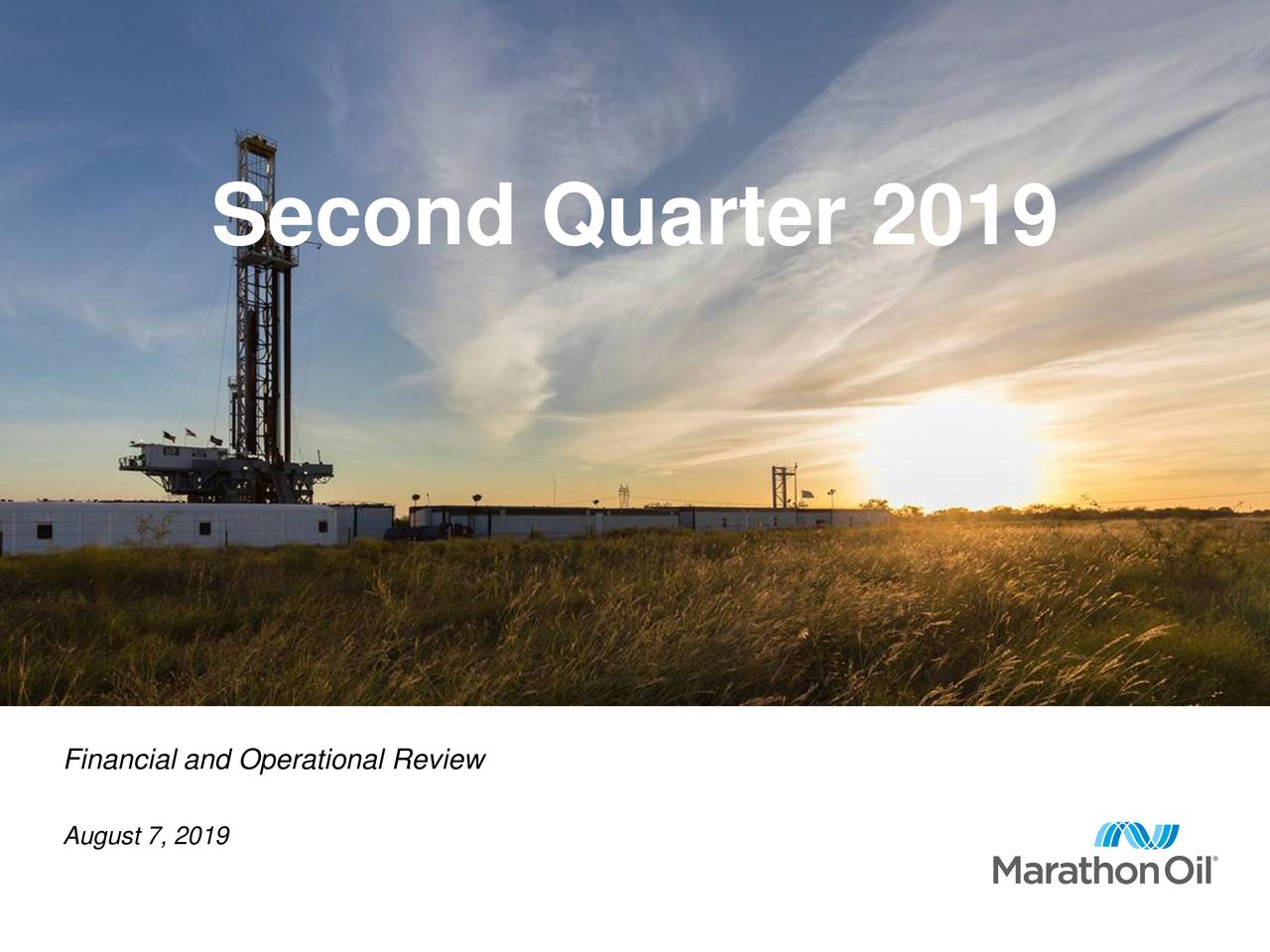 Second Quarter 2019