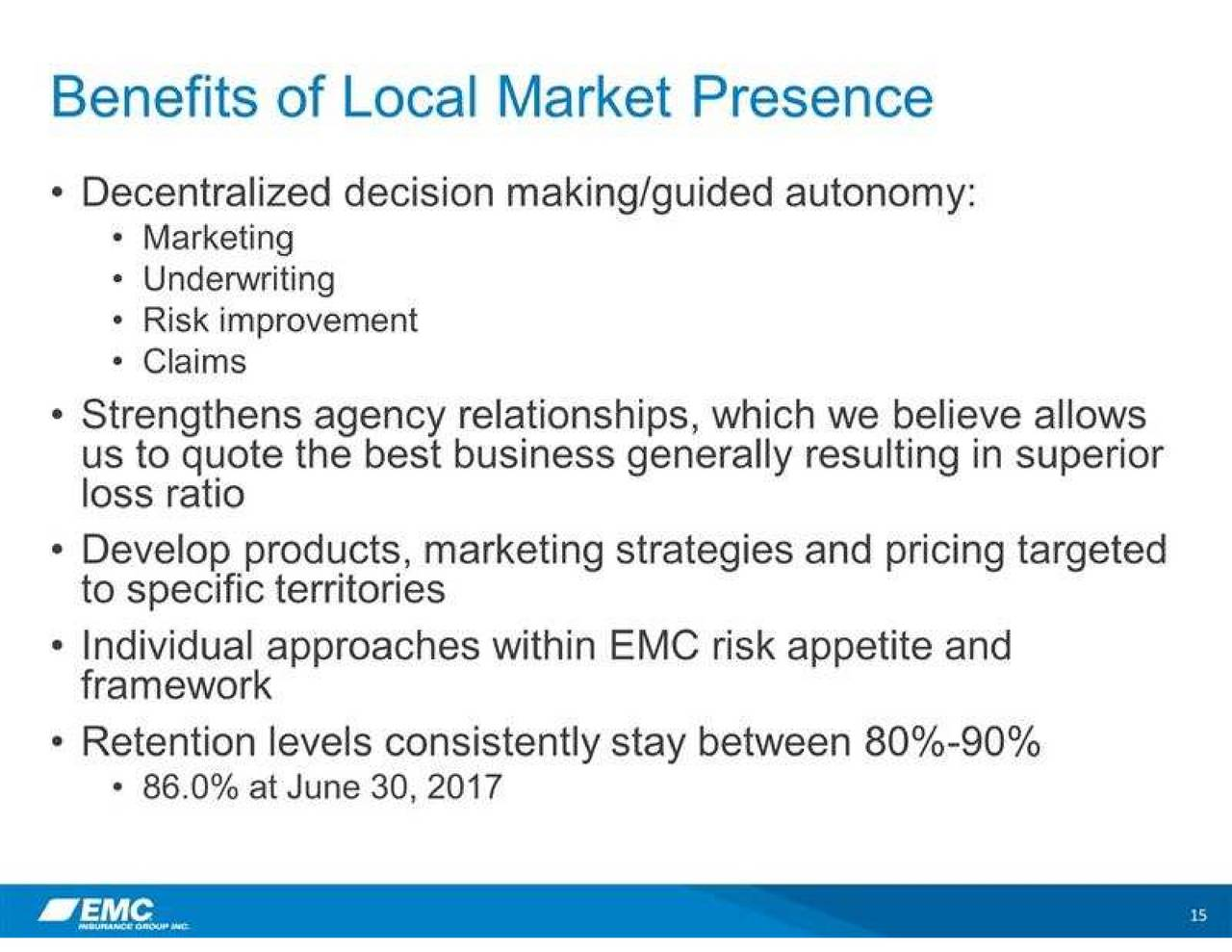 Emc Quote Emc Insurance Emci Presents At Cfa Society Of Minnesota 6Th