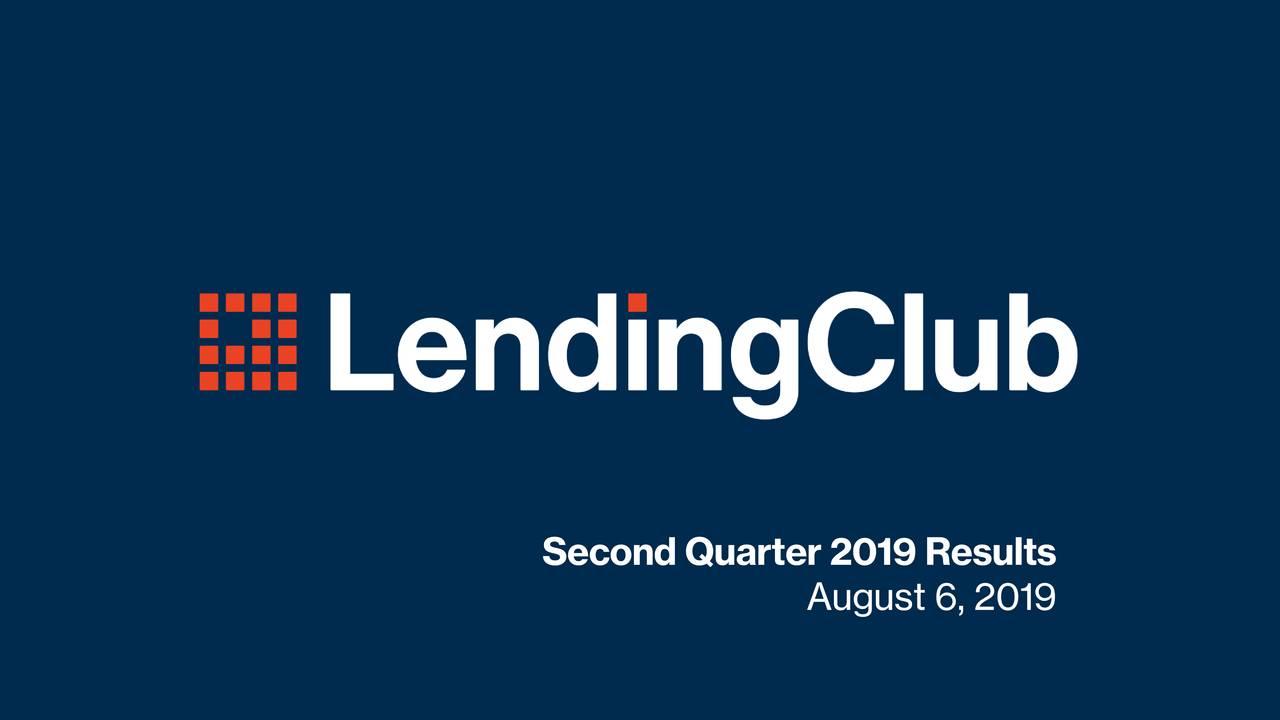 Second Quarter 2019 Results