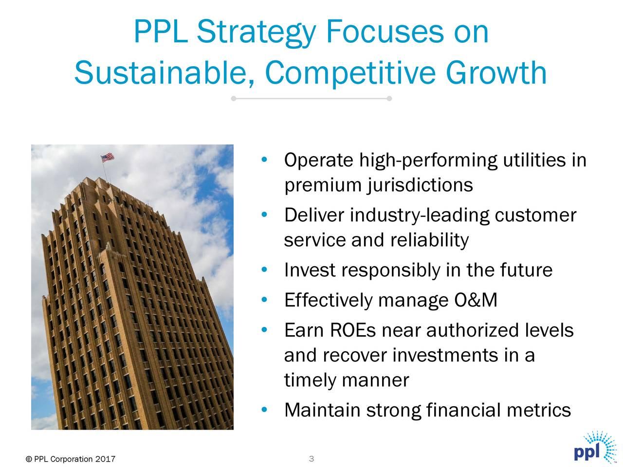 Ppl Corporation Ppl Presents At Morgan Stanley Mlp