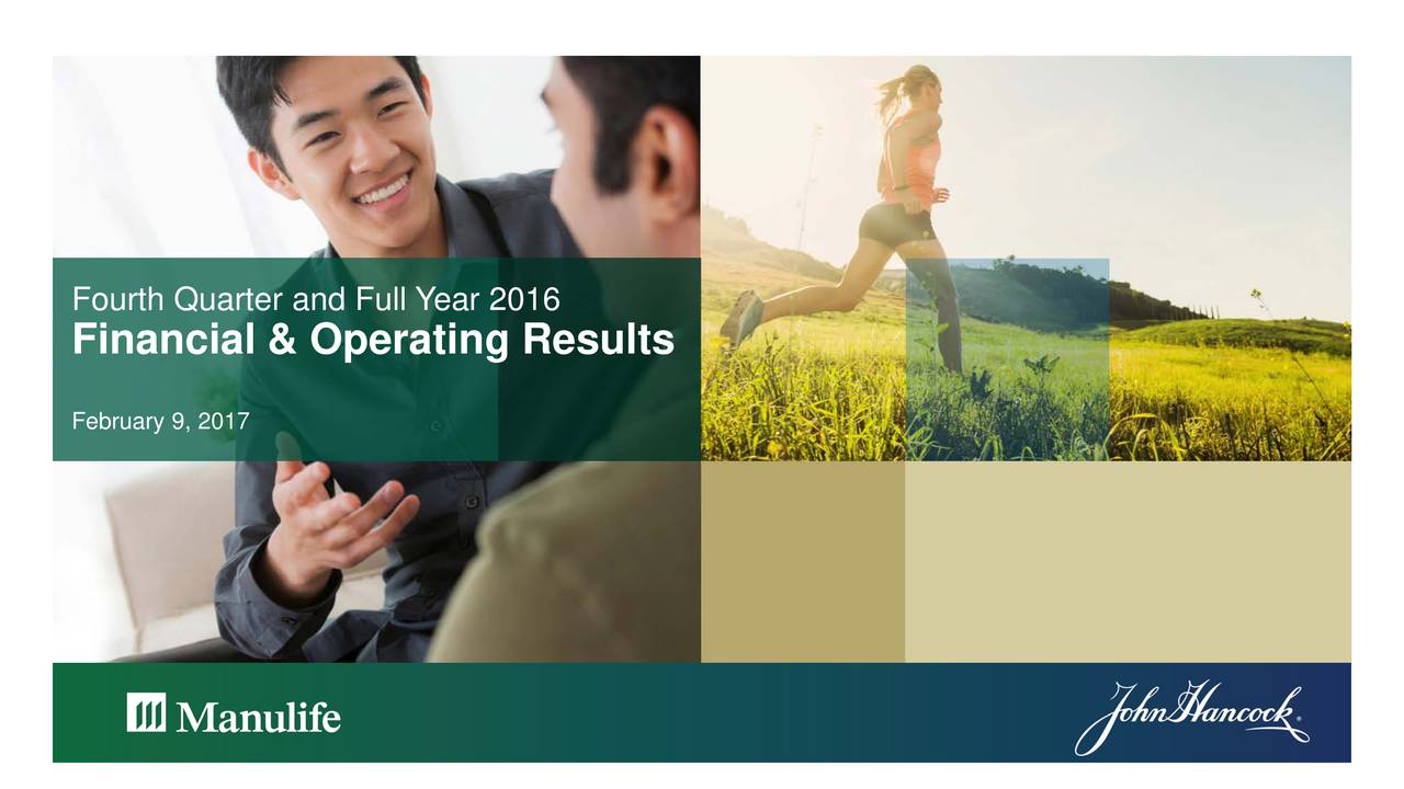 Financial & Operating Results February 9, 2017