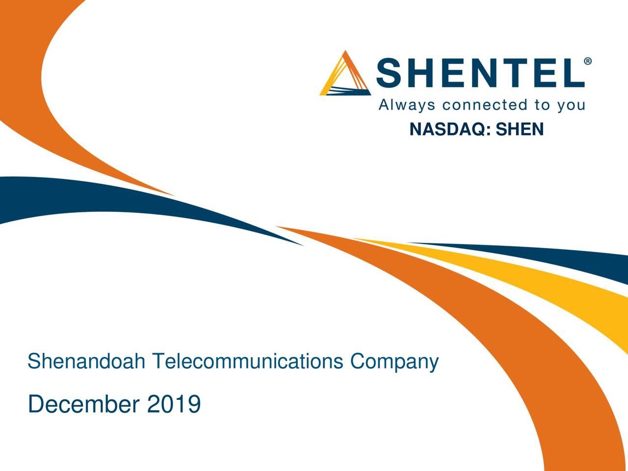 Shenandoah Telecommunications (SHEN) Presents At UBS Global TMT Conference - Slideshow - Shenandoah Telecommunications Company (NASDAQ:SHEN)   Seeking Alpha