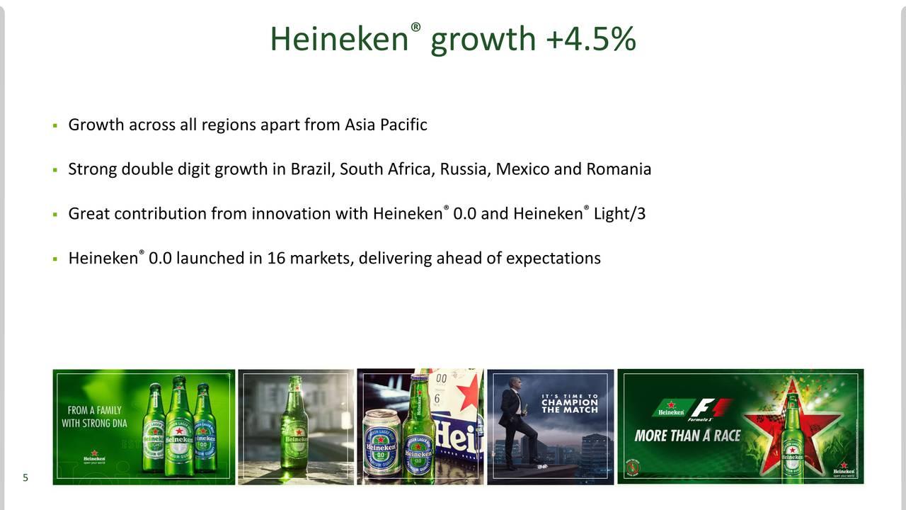 heineken n v About heineken nv heineken is the world's most international brewer it is the leading developer and marketer of premium beer and cider brands.