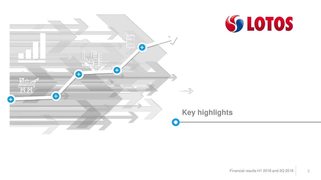 Financial results H1 2018 and 2Q 3018