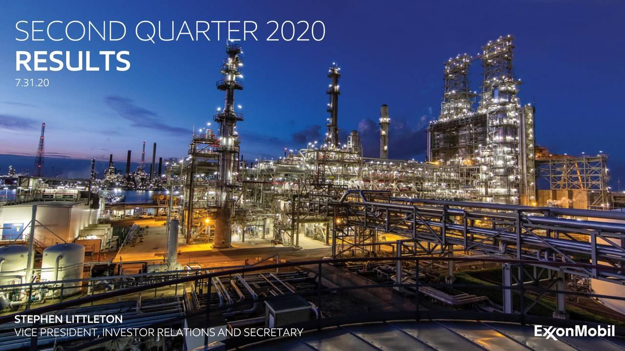 • SECOND QUARTER 2020 RESULTS 7.31.20 STEPHEN LITTLETON
