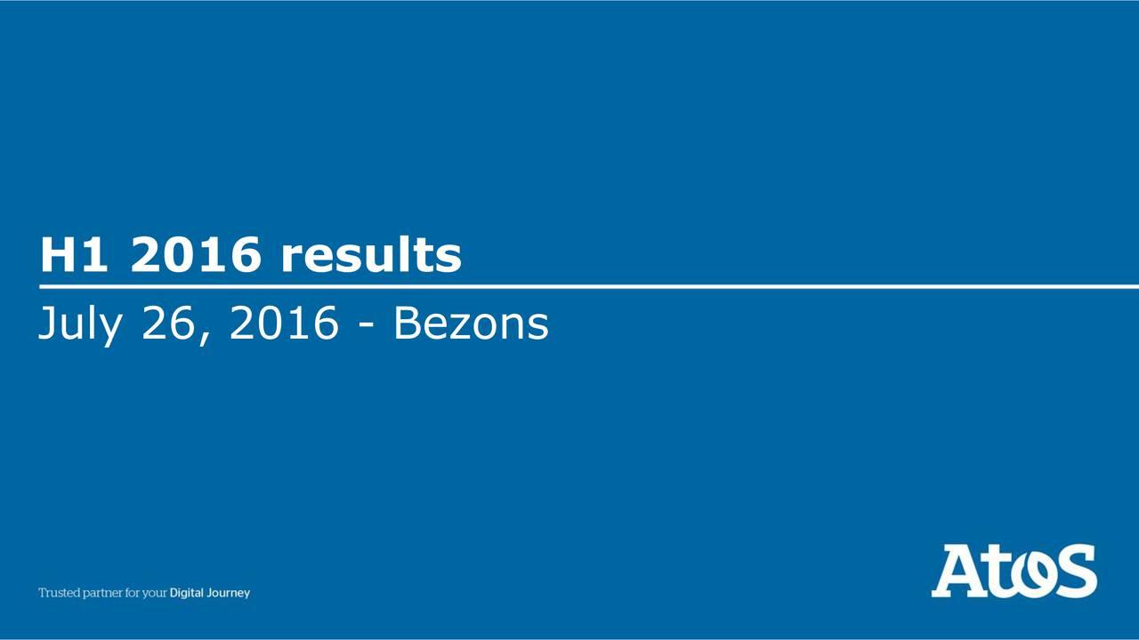 July 26, 2016 - Bezons