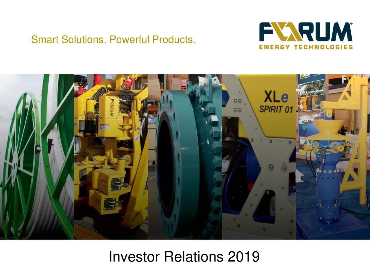 Forum Energy Technologies (FET) Investor Presentation