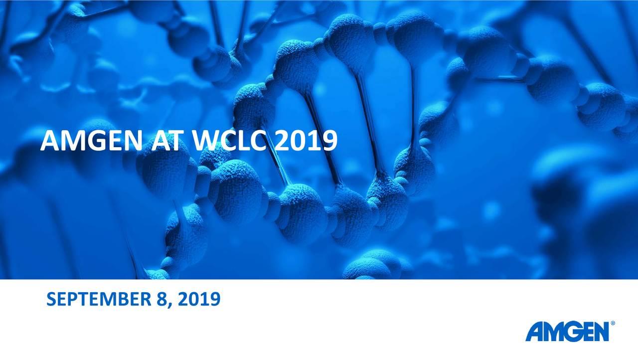 AMGEN AT WCLC 2019