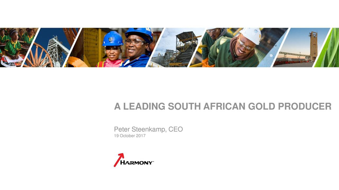 Anglogold Ashanti Au Updates On Definitive Agreement With Harmony