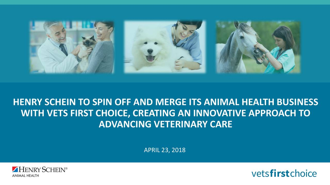 WITH VETS FIRST CHOICE, CREATING AN INNOVATIVE APPROACH TO ADVANCING VETERINARY CARE APRIL 23, 2018