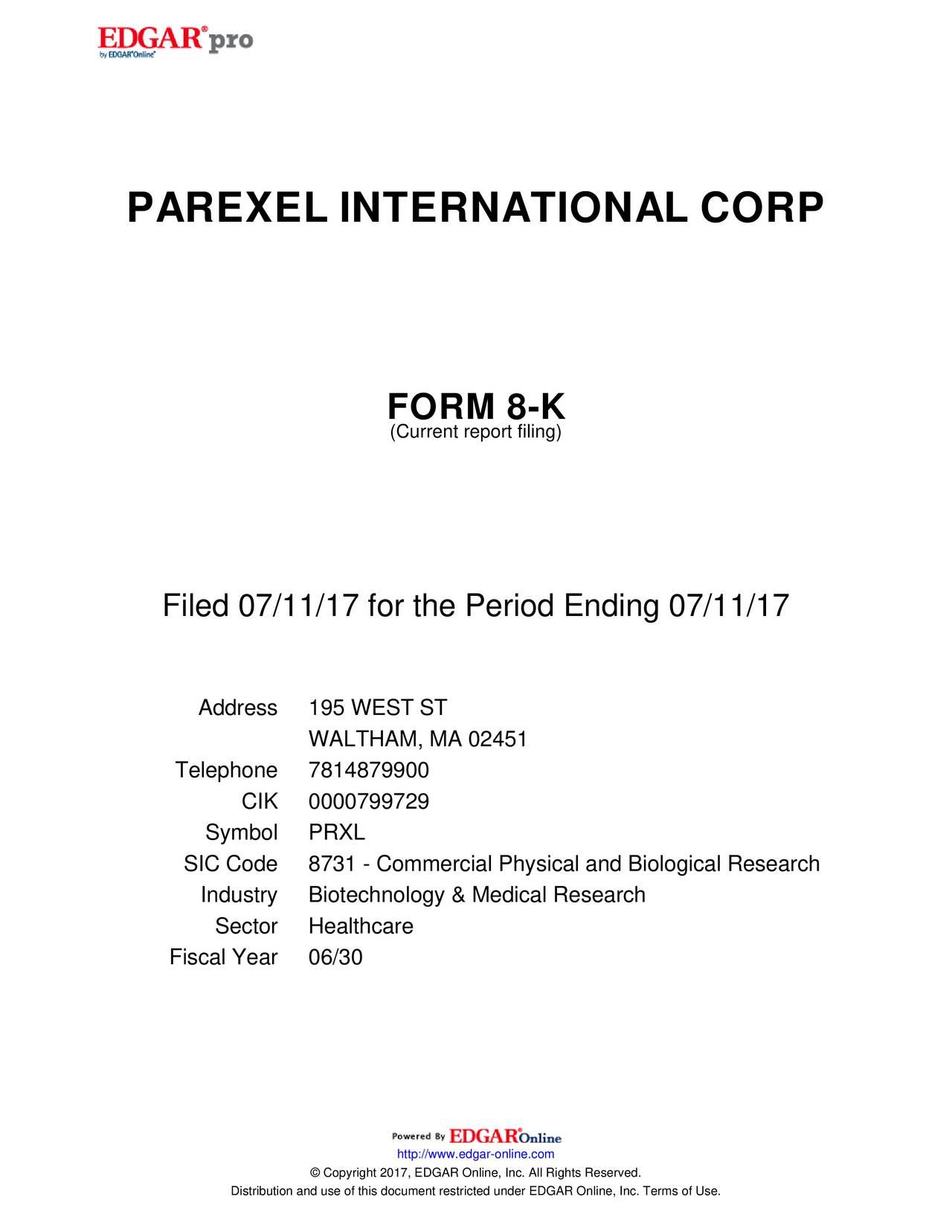 parexel international