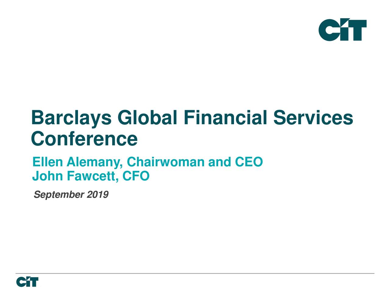 Barclays Global Financial Services