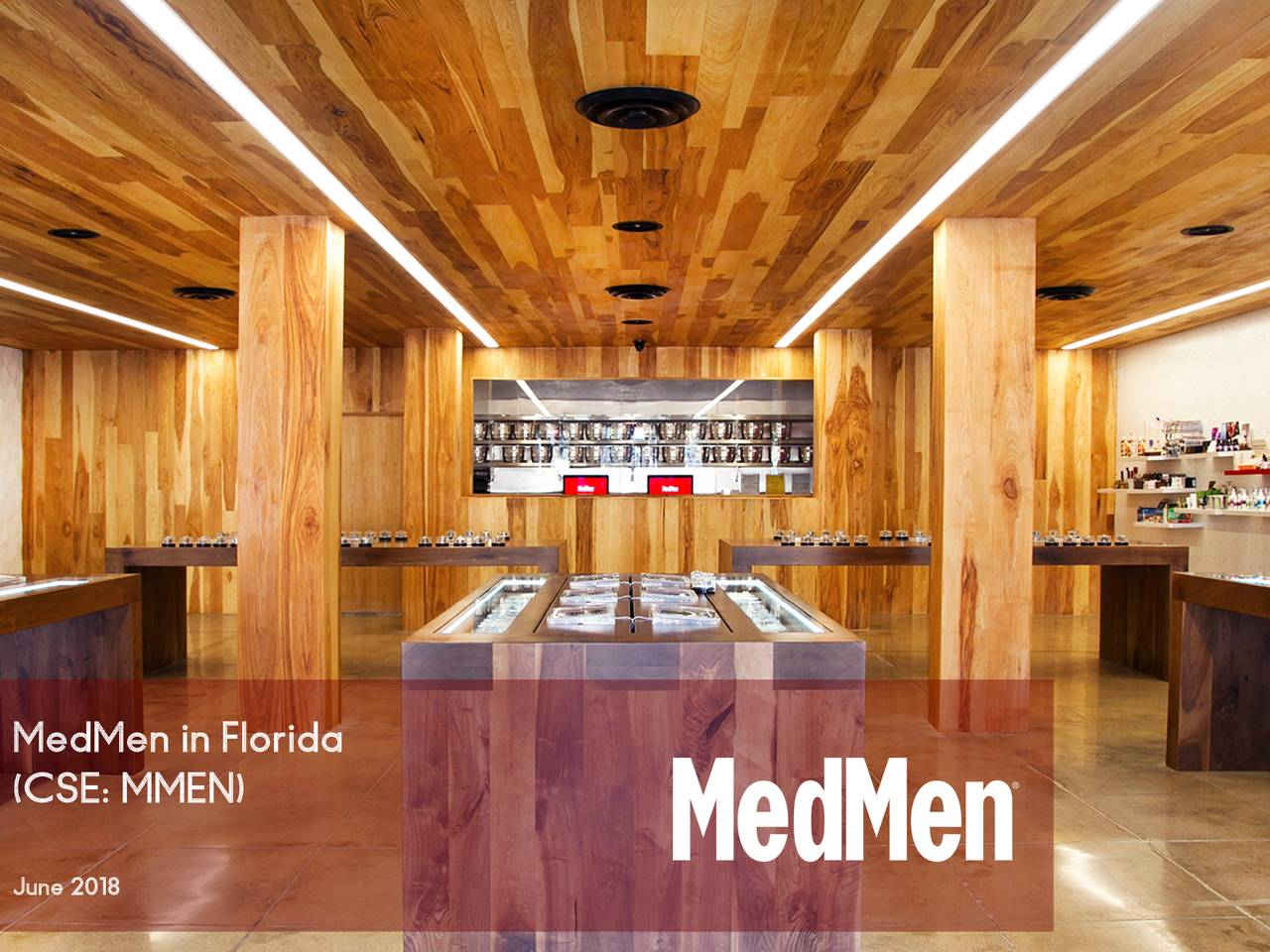 MedMen Enterprises (MMNFF) Announces Acquisition of Florida